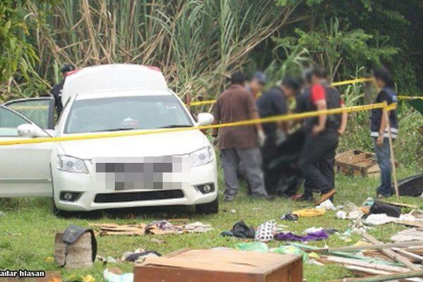 Seorang koperal dan anak 7 tahun ditemui mati dalam kereta. Ini kata laporan polis