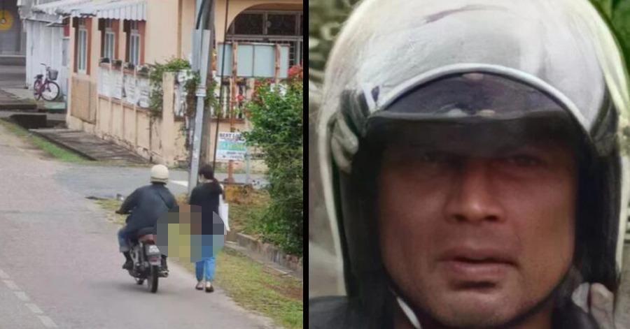 Wajah sudah dikesan di CCTV. Polis buru seorang lelaki raba wanita di Kelantan