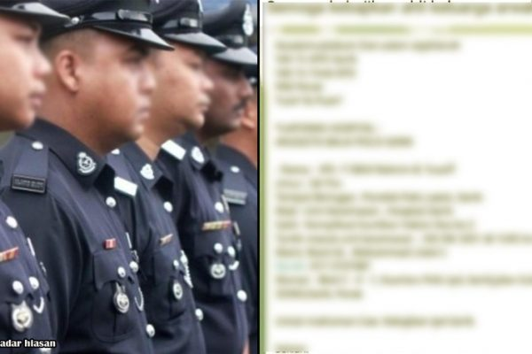 Tular berita seorang anggota polis kononnya mati kerana vaksin. Ini cerita sebenarnya