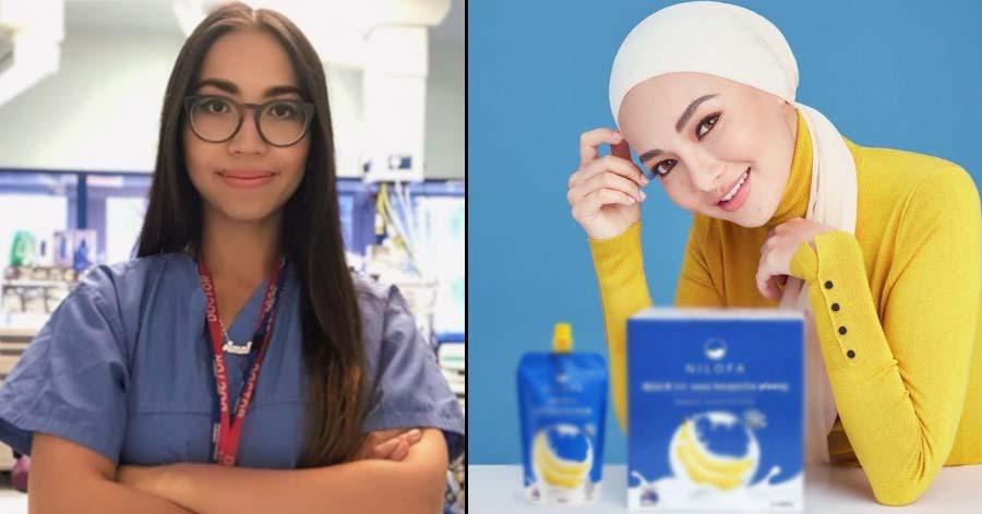 Genius Malaysia, Dr. Amalina pernah tegur produk susu pisang Neelofa. Ini puncanya