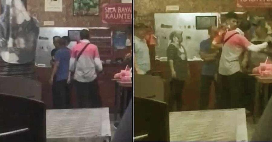 Video pemilik kedai tampar rider Foodpanda tular. Ini punca pertengkaran berlaku